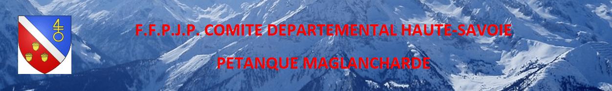 Pétanque Maglancharde